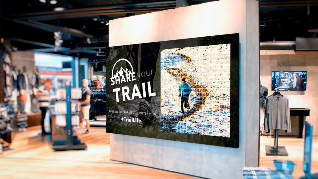 Digital Mosaic at Retail